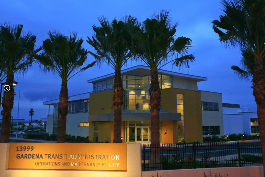 Exceptional City Of Gardena | Transit Admin., Operations U0026 Maint. Facility